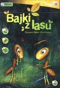 Okładka książki Cd Bajki z Lasu Książka Czytana Tw