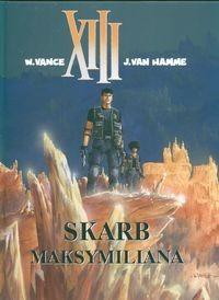 Okładka książki XIII: Skarb Maksymiliana
