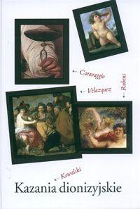 Okładka książki Kazania dionizyjskie