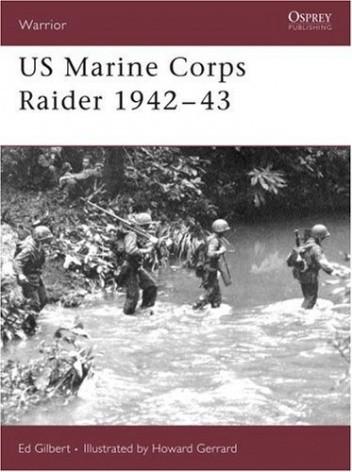 Okładka książki US Marine Corps Raider 1942-43