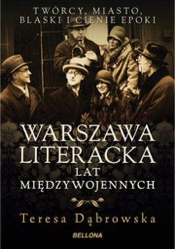 Okładka książki Warszawa literacka lat międzywojennych