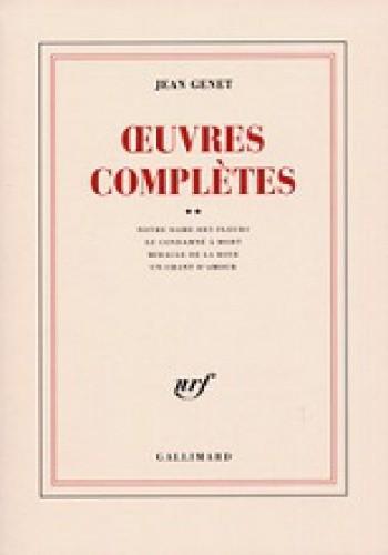 Okładka książki Œuvres complètes, tome II