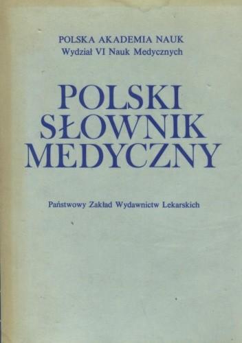 Okładka książki Polski słownik medyczny