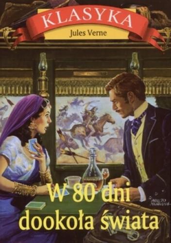 Okładka książki W osiemdziesiąt dni dookoła świata