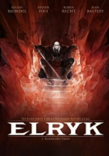 Okładka książki Elryk #01: Rubinowy tron