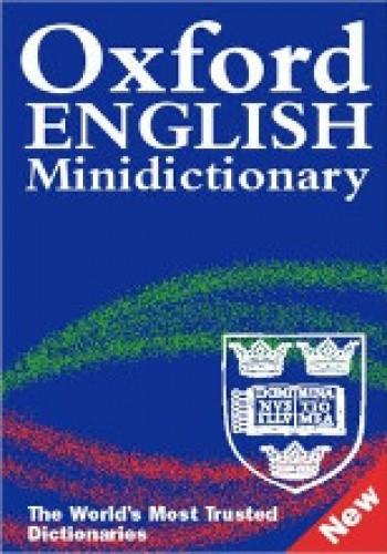 Okładka książki Oxford English Minidictionary. Sixth edition