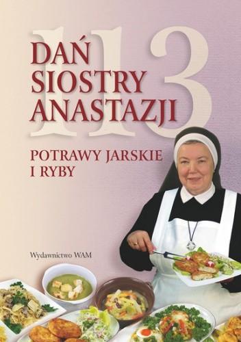 Okładka książki 113 dań siostry Anastazji. Potrawy jarskie i ryby