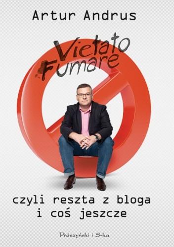 Okładka książki Vietato fumare, czyli reszta z bloga i coś jeszcze