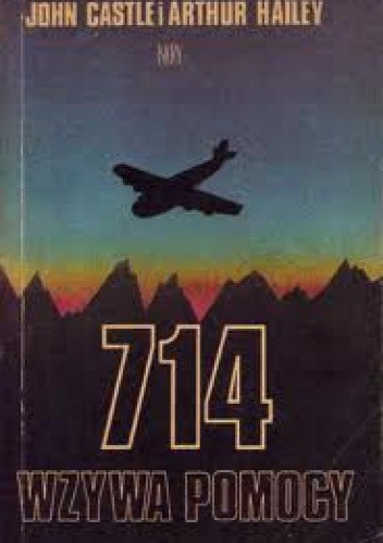 Okładka książki 714 wzywa pomocy