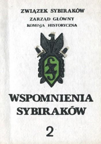 Okładka książki Wspomnienia Sybiraków 2