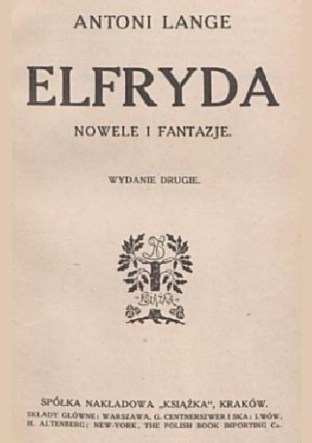 Okładka książki Elfryda: Nowele i Fantazje