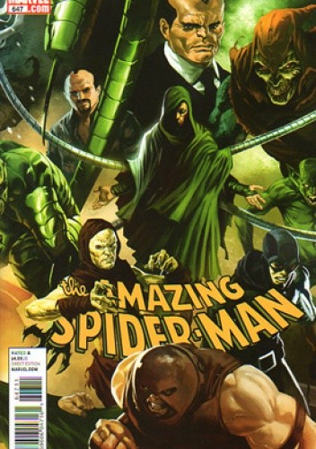 Okładka książki Amazing Spider-Man Vol 1 # 647: Brand New Day, Another Door