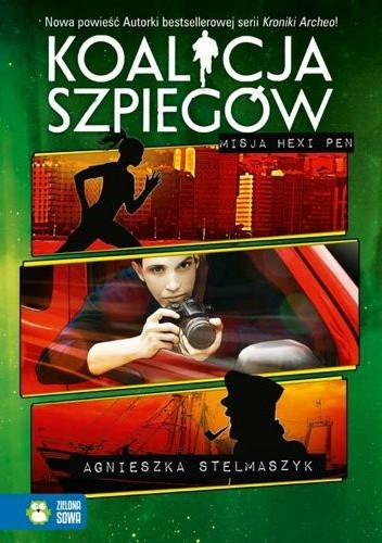Okładka książki Koalicja szpiegów. Misja Hexi Pen