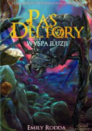Okładka książki Pas Deltory. Wyspa iluzji.