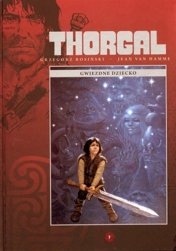 Okładka książki Thorgal: Gwiezdne dziecko
