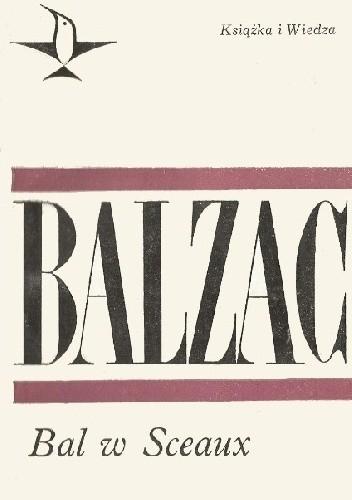 Okładka książki Bal w Sceaux