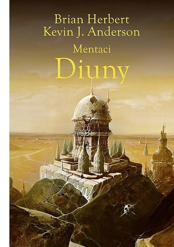 Okładka książki Mentaci Diuny
