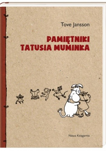 Okładka książki Pamiętniki Tatusia Muminka