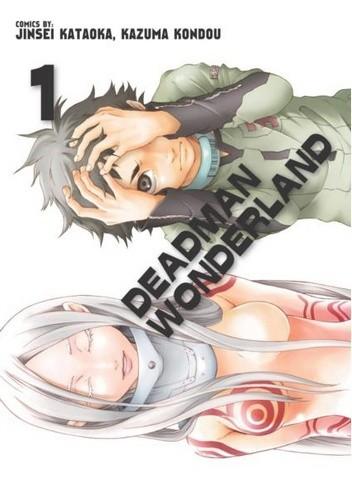 Okładka książki Deadman Wonderland #1