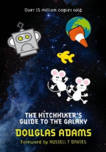 Okładka książki The Hitchhiker's Guide to the Galaxy