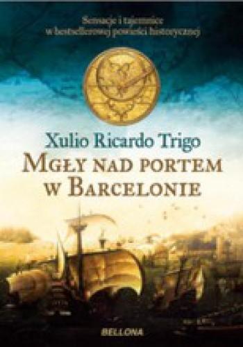 Okładka książki Mgły nad portem w Barcelonie