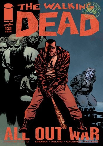 Okładka książki The Walking Dead #121