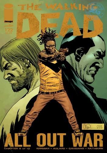 Okładka książki The Walking Dead #122