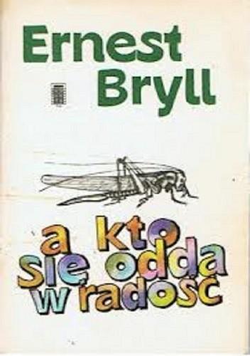 Okładka książki a kto się odda w radość