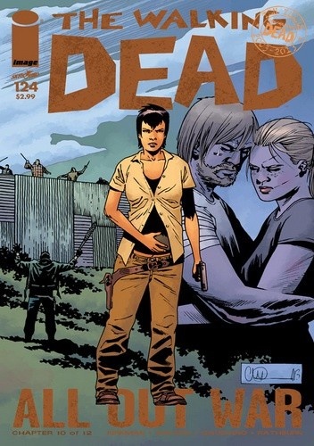 Okładka książki The Walking Dead #124