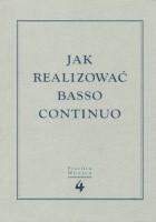 Jak realizować basso continuo
