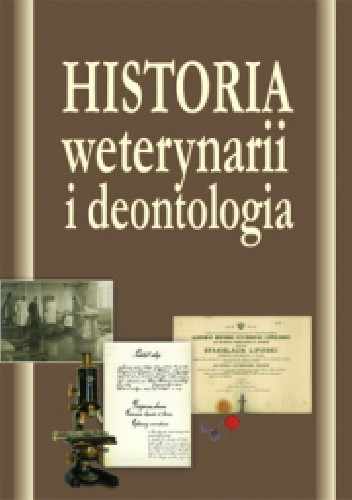 Okładka książki Historia weterynarii i deontologia