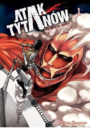 Okładka książki Atak Tytanów tom 1