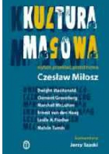 Okładka książki Kultura masowa