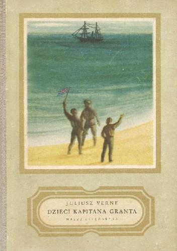 Okładka książki Dzieci kapitana Granta. Tom III