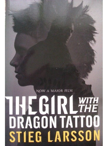 Okładka książki The Girl with the Dragon Tattoo