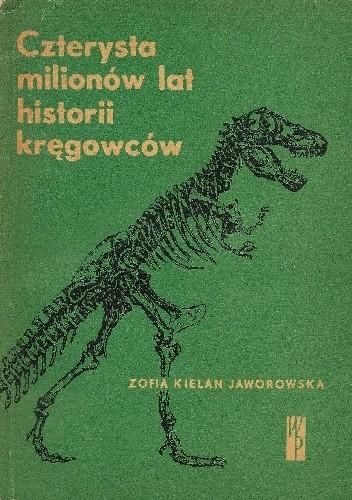 Okładka książki Czterysta milionów lat historii kręgowców