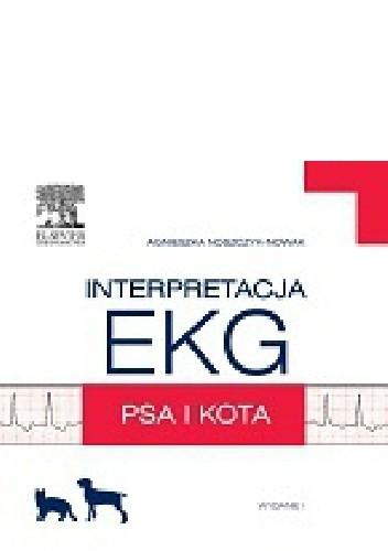 Okładka książki Interpretacja EKG psa i kota
