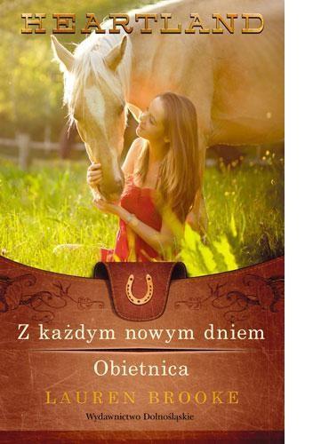 Okładka książki Z każdym nowym dniem. Obietnica
