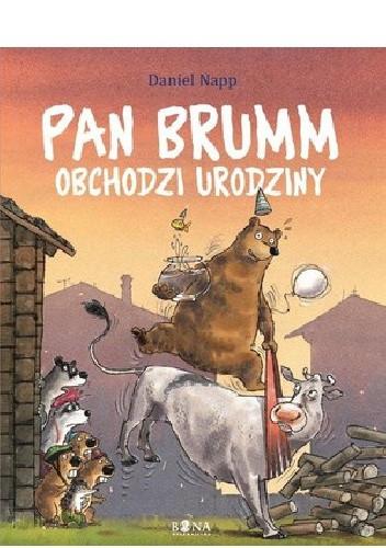 Okładka książki Pan Brumm obchodzi urodziny