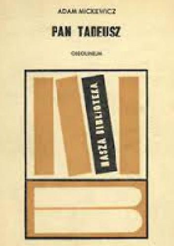 Okładka książki Pan Tadeusz