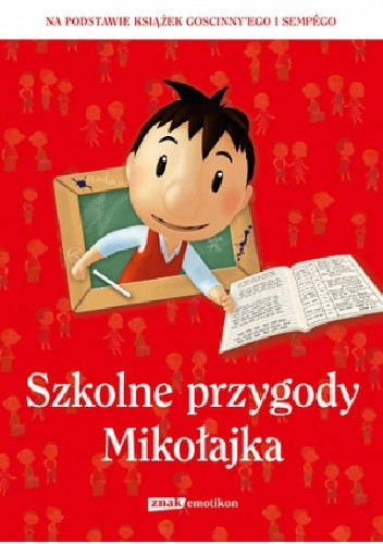 Okładka książki Szkolne przygody Mikołajka
