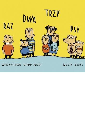 Okładka książki Raz dwa trzy psy