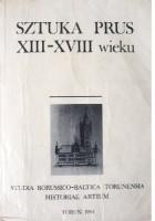 Sztuka Prus XIII-XVIII wieku