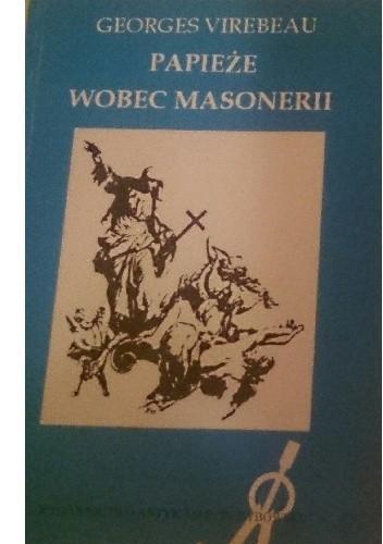 Okładka książki Papieże wobec masonerii