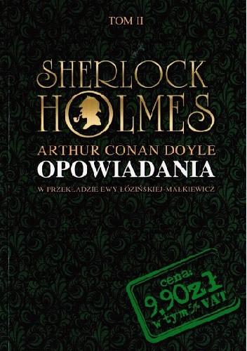 Okładka książki Sherlock Holmes. Opowiadania II
