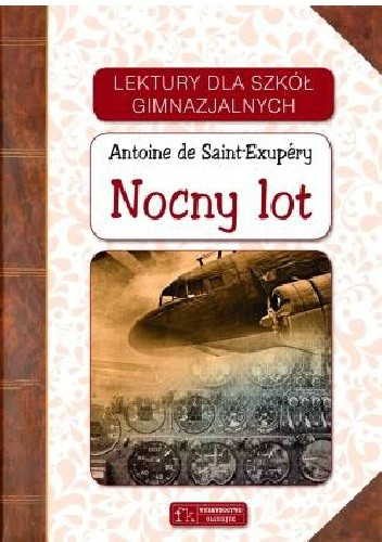 Okładka książki Nocny lot