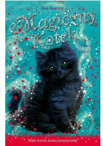 Okładka książki Magiczny kotek. Nowy pupil