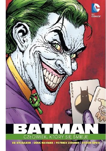 Okładka książki Batman: Człowiek, który się śmieje