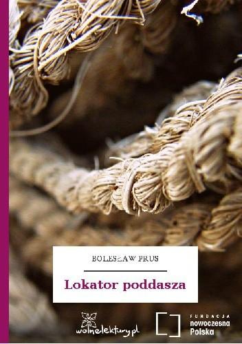 Okładka książki Lokator poddasza