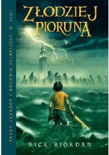 Okładka książki Percy Jakson i Bogowie Olimpijscy - Złodziej pioruna